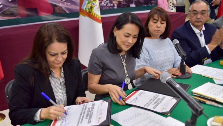 Firma STPS y Gobierno de Edomex  Convenio para Impulsar Competencias Laborales