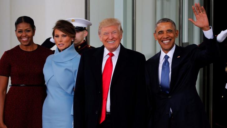 Toma de posesión de Trump, el 45 presidente de EU