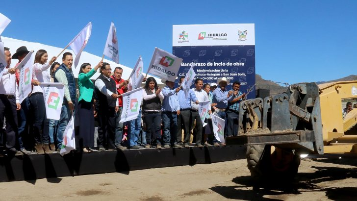 Impulsa Hidalgo Obras en San Agustín Tlaxiaca y Mineral de la Reforma