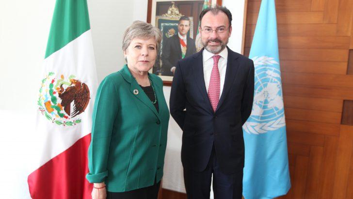 Se Reúne Videgaray Caso con Secretaria Ejecutiva de la CEPAL