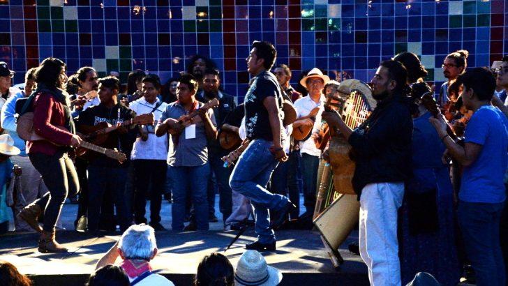 Danza, Poesía Cantada y Sones Jarochos Invadieron la Plaza del Centro Nacional de las Artes