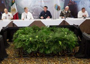 Encabeza Osorio Chong Reunión de Seguridad en BC