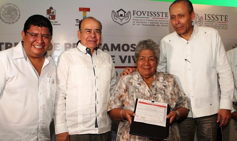Créditos de ISSSTE por 127 mdp en Quintana Roo y Tabasco