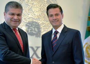 Recibe Peña Nieto al Gobernador Electo de Coahuila