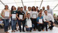 Entrega Rosario Robles Vivienda a Jóvenes de Jalisco