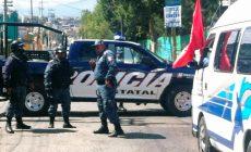 Reprimen en Hidalgo a Manifestantes, Previo a Cumbre de Alcaldes