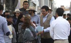 Supervisa el Alcalde David López Obras Hidráulicas en Metepec