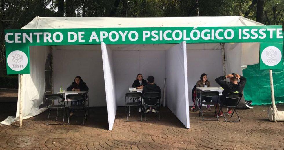 Instala ISSSTE Centros Itinerantes de Apoyo Psicológico en la CDMX, Morelos, Puebla y Tlaxcala