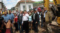 Ofrecen EPN y Alfredo del Mazo Enviar Apoyos Necesarios a Zonas Dañadas por Sismo