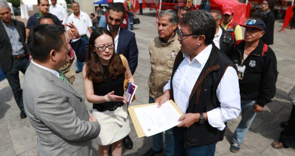 Propone Monreal Plan Integral para la Reconstrucción y Recuperación de la Ciudad de México