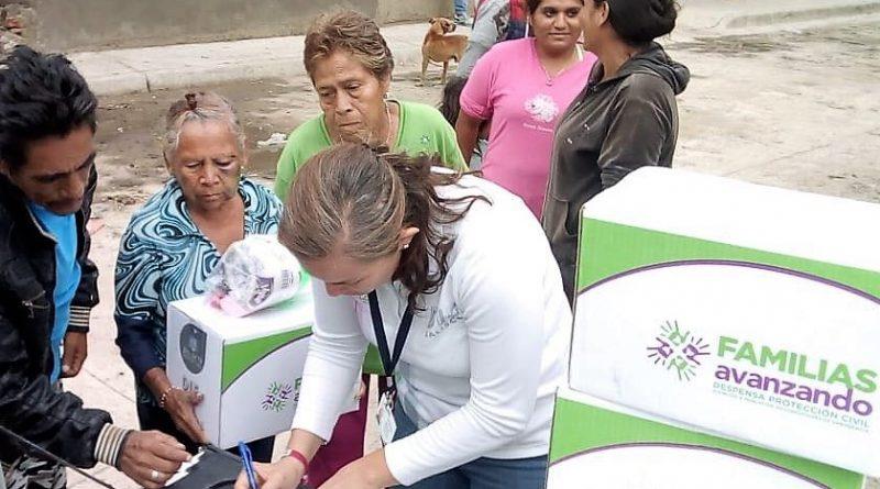 Apoya DIF Jalisco a Familias Afectadas por las Lluvias