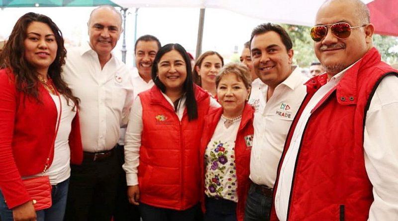 Anabel Alvarado, Progreso de Familias Tlaxcaltecas; Pepe Calzada