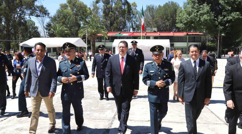Atestigua Marco Mena Toma de Protesta de Nuevo Comandante de la 23 Zona Militar