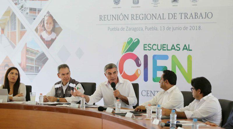 Puebla, Ejemplo de Eficiencia en Escuelas al CIEN: Inifed