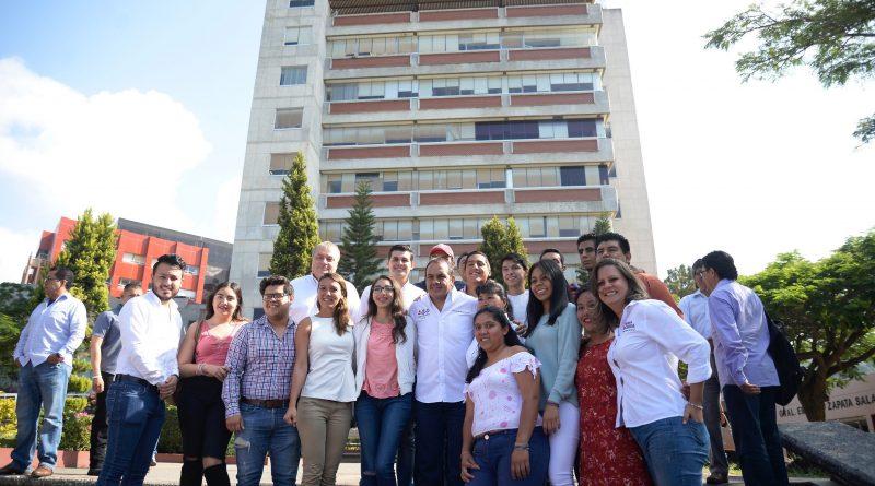 """Vamos a Sacar a la UAEM de la Crisis Financiera"": Cuauhtémoc Blanco"