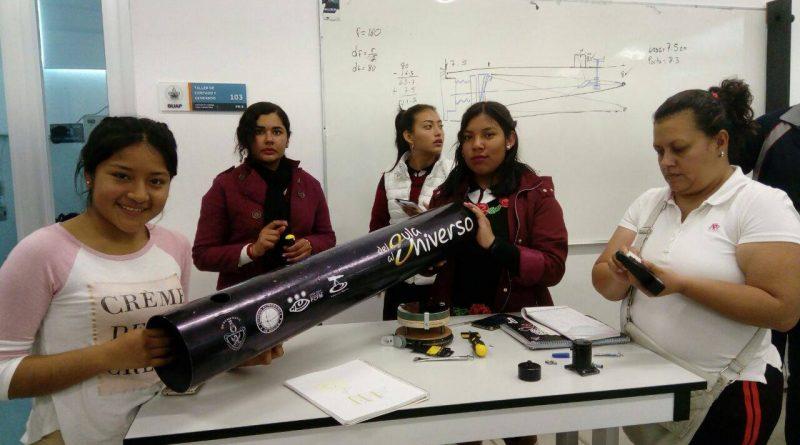 Estudiantes del Emsad Construyeron Telescopios