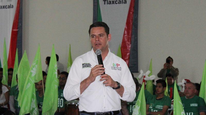 Romero Coello, en Intensa Gira de Trabajo con Jóvenes de Tlaxcala