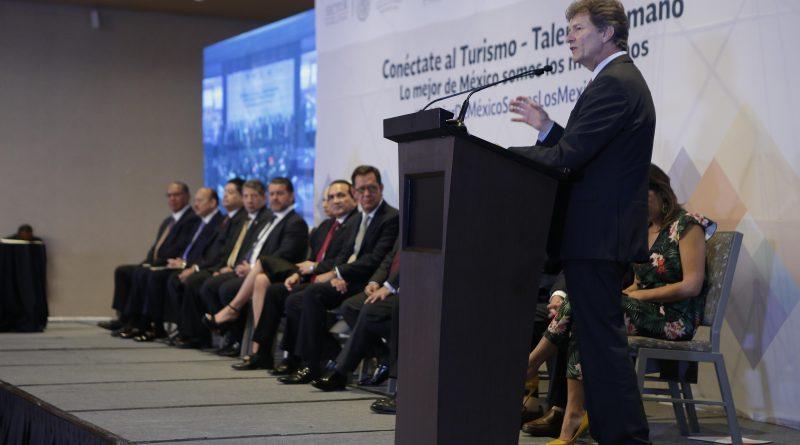 """""""Entre más Empresas Conectemos al Turismo, más Mexicanos Tendrán Empleos Dignos"""": EM"""