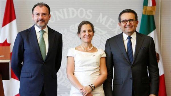 Visita de Ministra de Asuntos Exteriores de Canadá, Chrystia Freeland a México