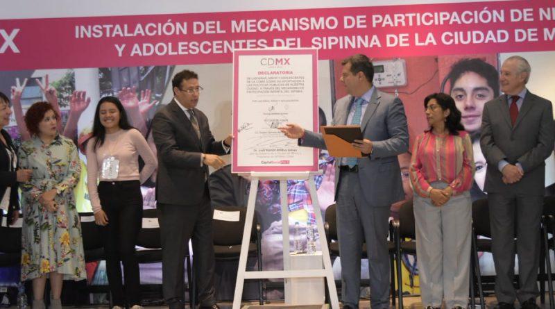 Presenta GCdmx Mecanismo de Participación de Niñas, Niños y Adolescentes