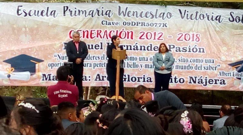 Celebró su Clausura de Cursos la Primaria Wenceslao Victoria Soto de la Cdmx