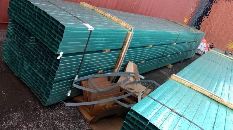 Recupera PGR Plataforma y Casi mil Piezas de Acero en Veracruz