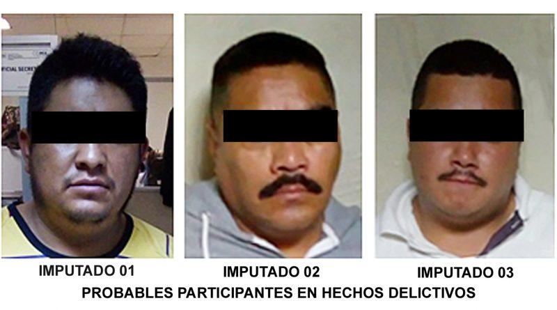 Imponen Prisión Preventiva por Robo de Vehículo, a 3 Hombres; se Busca que otro sea Vinculado a Proceso por el Mismo Ilícito