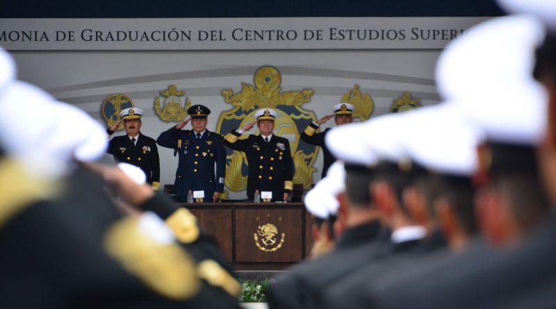 Se Gradúan 442 Discentes del Centro de Estudios Superiores Navales