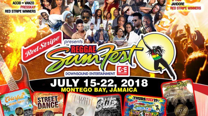 """Presente Jah Fabio, Único Artista de Habla Hispana en Festival de Reggae en el  Mundo,  """"Reggae Sumfest"""" de Jamaica"""