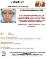 Activa PGJCdmx Alerta Amber para Localizar a Menor Extraviado en Iztapalapa