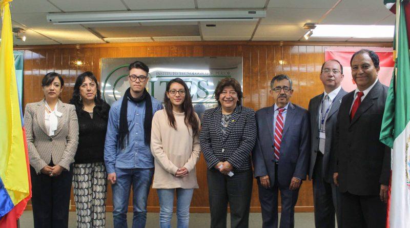 Recibe Itesa a Estudiantes de Fundación Universitaria Juan de Castellanos, Colombia