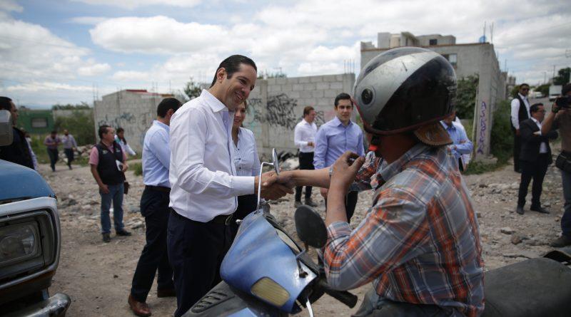 Entrega el Gobernador Obras Sociales por más de 21 mdp en Colonias Halcones y Generación 2000