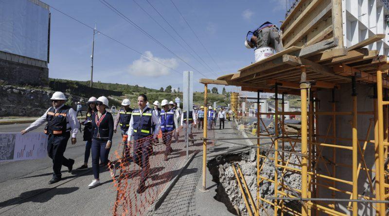 Supervisa Gobernador Avance del 30% de Modernización del Boulevard Bernardo Quintana Sur