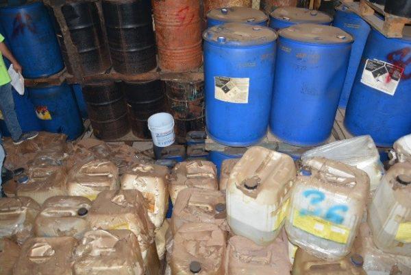 Destruye PGR más de 15 Toneladas de Precursores y más de 60 mil Litros de Sustancias Quimicas en Sinaloa