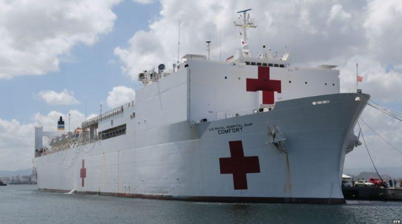 Apoyará Buque Hospital Misión Humanitaria en América Latina