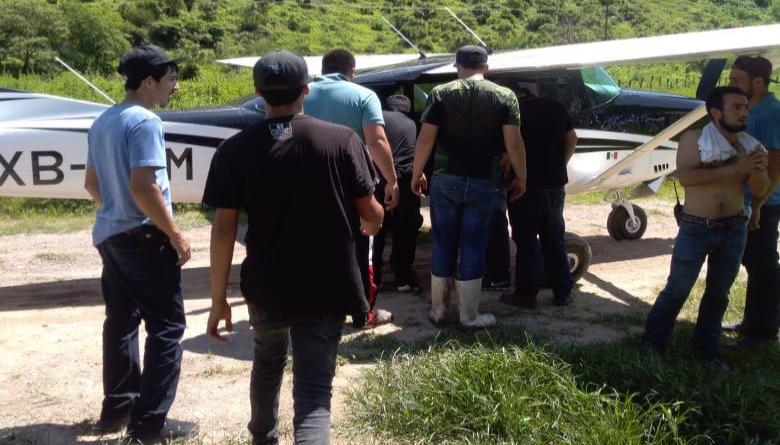 Otro Accidente Aéreo en Durango