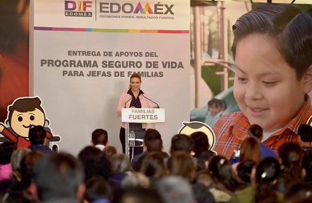 Otorgan DIFEM ySEDESOLApoyos a Familias Mexiquenses con Orfandad Materna