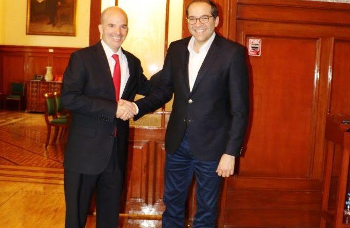 Se Reúne Gobernador de Colima con Secretario de Hacienda