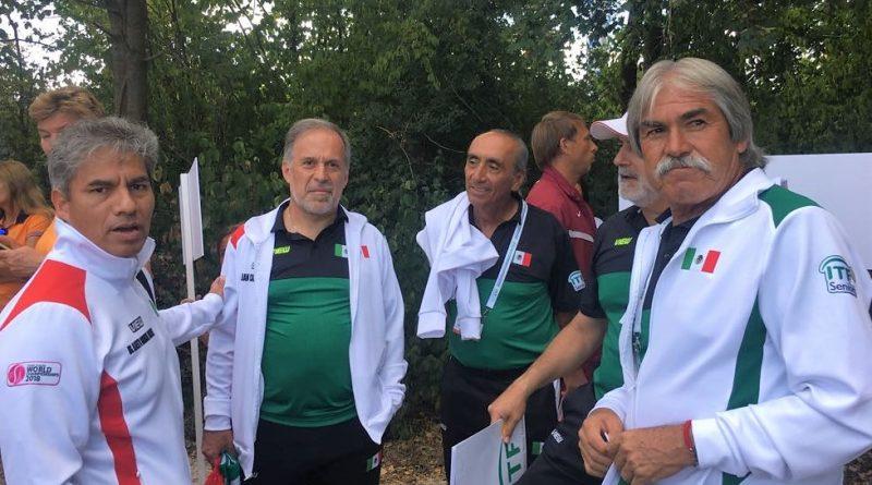 """Lleva Javier """"Gato"""" Ordaz a México al Triunfo Sobre Canadá en el Mundial Seniors de Tenis"""