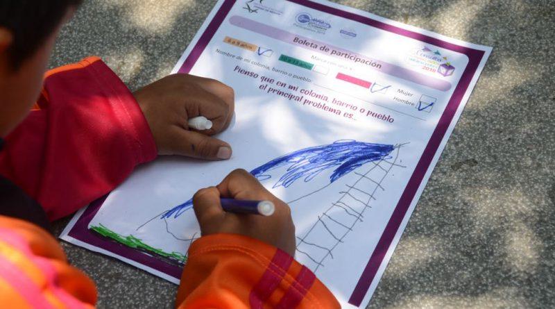 Anuncia IECM Consulta para Niñas, Niños y Adolescentes 2018