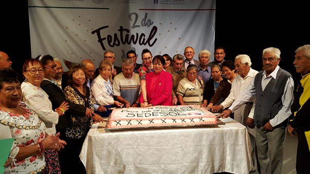 Festeja Delegada de SEDESOL día del Adulto Mayor.