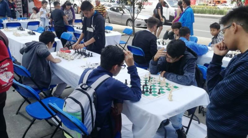 Exitosa la Eliminatoria Estatal de Ajedrez en la CDMX