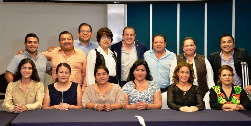 Avanza Trabajo de Cuauhtémoc Blanco con Próxima Legislatura Local