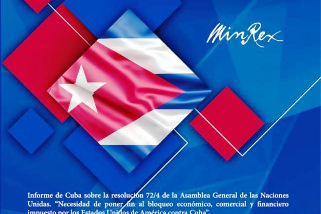 Bloqueo Económico Comercial y Financiero Contra Cuba
