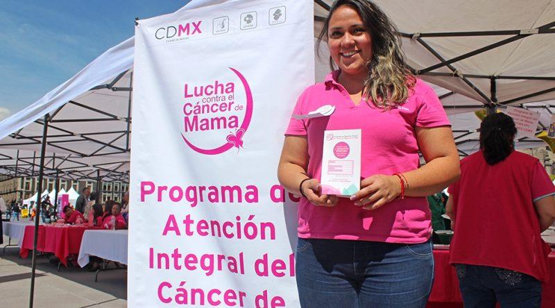 Invita Inmujeres CDMX a Realizarse una Mastografía para Detectar a Tiempo Cáncer de Mama