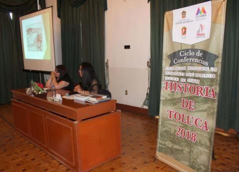 Comparten Especialistas Temas Históricos de Interés con Comunidad Mexiquense