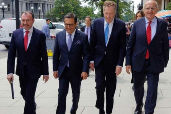 Viaja a Washington, D.C., Delegación Mexicana para Nueva Ronda de Negociaciones del TLCAN