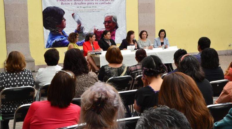 Impulsa Godezac Foros de Consulta para Atender a Población Adulta Mayor en la Entidad