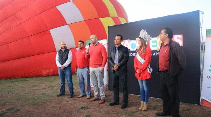 Ponen en Marcha Nuevo Producto Turístico Zacatecas Vuela en Globo