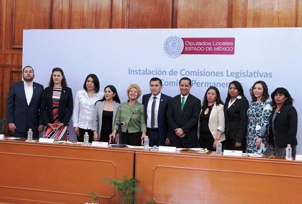 Asiste Jorge Olvera a Instalación de Comisión Legislativa de DDHH